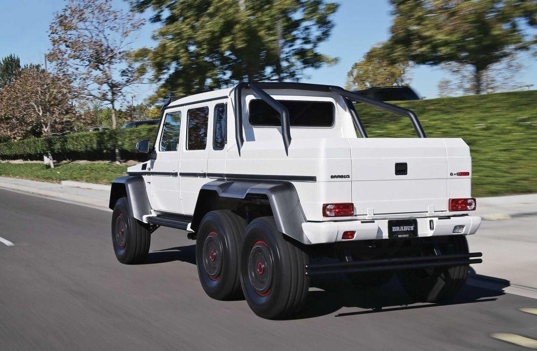 2015 Brabus G63 700 6x6 4x4 cars tuning wallpaper