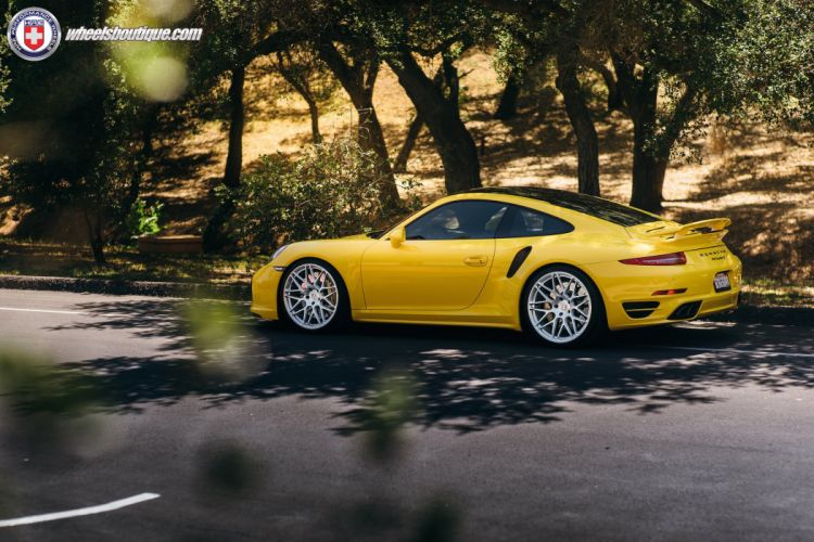 Porsche 991 Turbo-S HRE wheels tuning coupe cars wallpaper