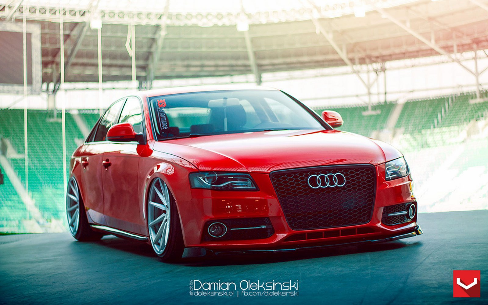 Audi audi a4 coup : Audi-a4 red vossen wheels tuning coupe cars wallpaper | 1600x1000 ...