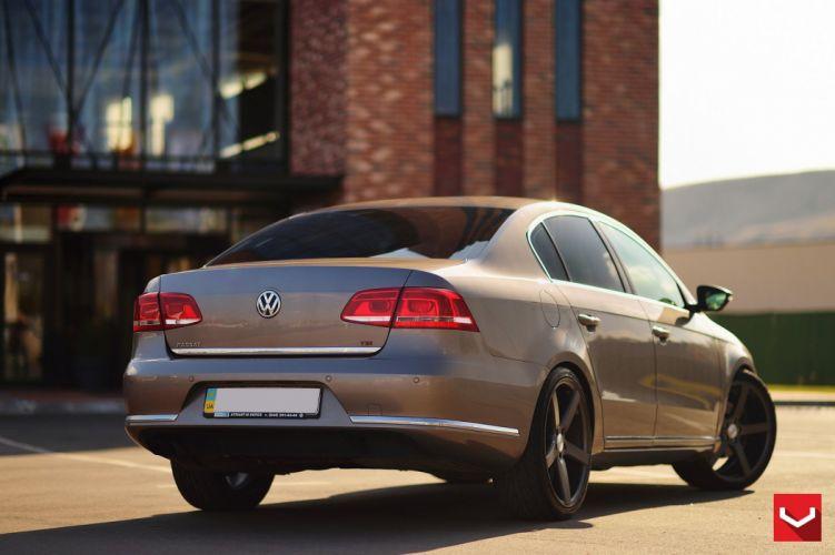 Volkswagen Passat vossen wheels tuning coupe cars wallpaper