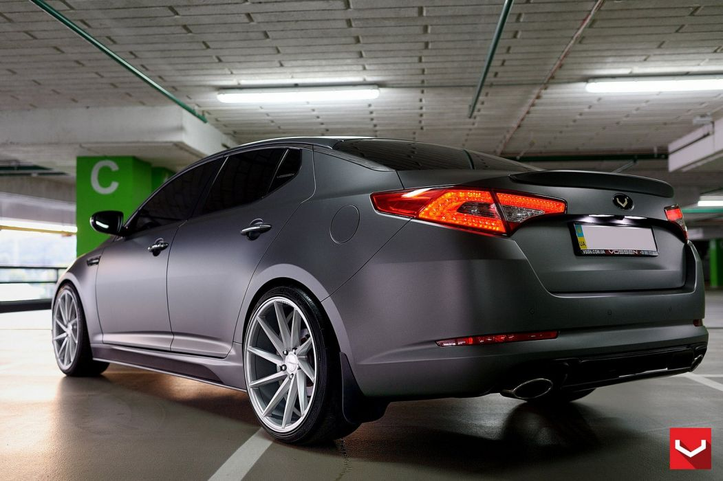 kia optima vossen wheels tuning coupe cars wallpaper. Black Bedroom Furniture Sets. Home Design Ideas