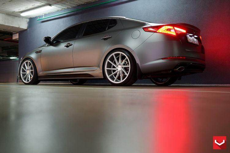 Kia Optima vossen wheels tuning coupe cars wallpaper