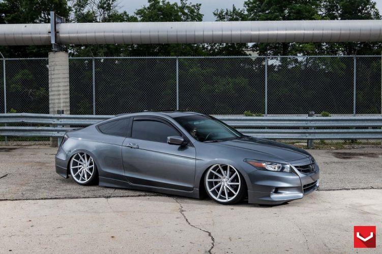 Honda Accord vossen wheels tuning cars wallpaper