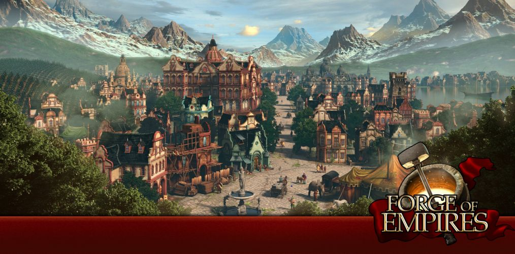 FORGE Of EMPIRES online fantasy strategy 1fempires building city cities adventure history poster wallpaper