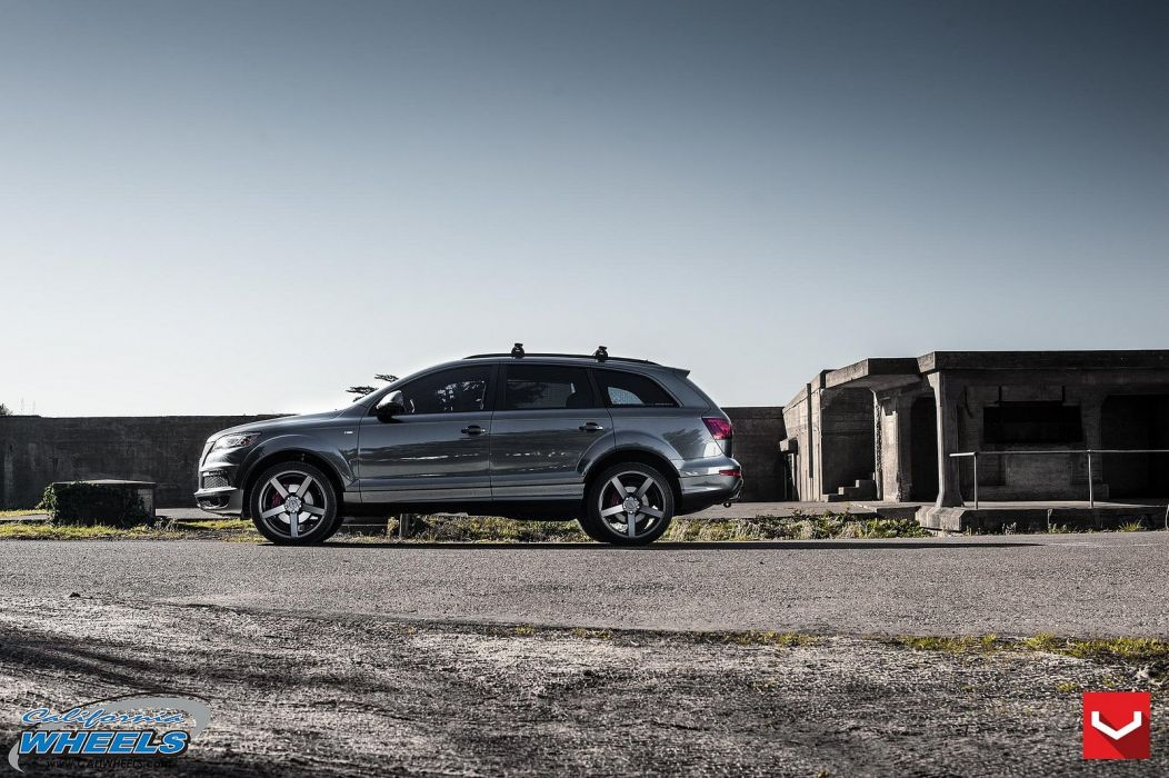audi-q7 suv vossen wheels tuning cars wallpaper
