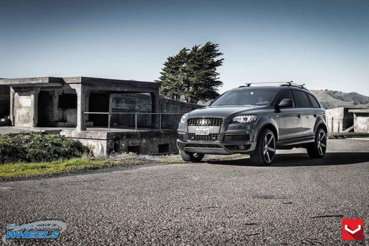audi-q7 suv vossen wheels tuning cars wallpaper