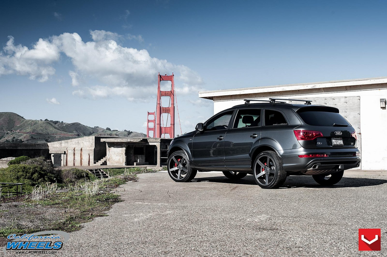 Audi Q7 Suv Vossen Wheels Tuning Cars Wallpaper