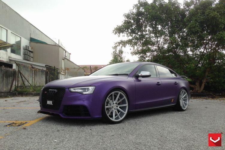 audi-a5 cars Tuning vossen wheels wallpaper