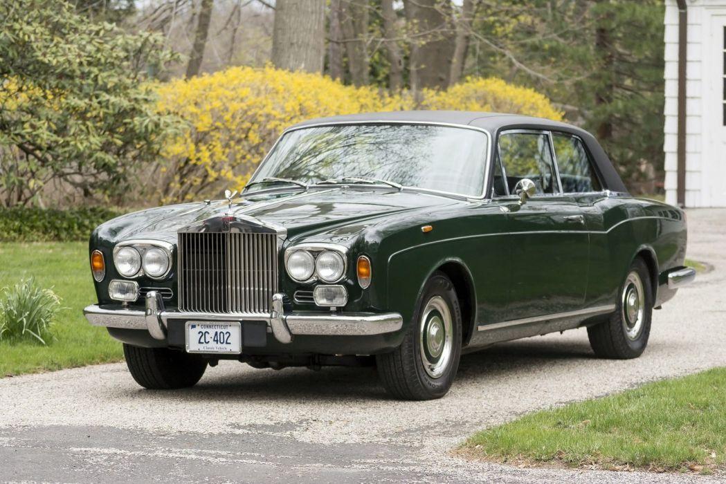 1971 Rolls Royce Corniche Saloon cars luxury classic green wallpaper