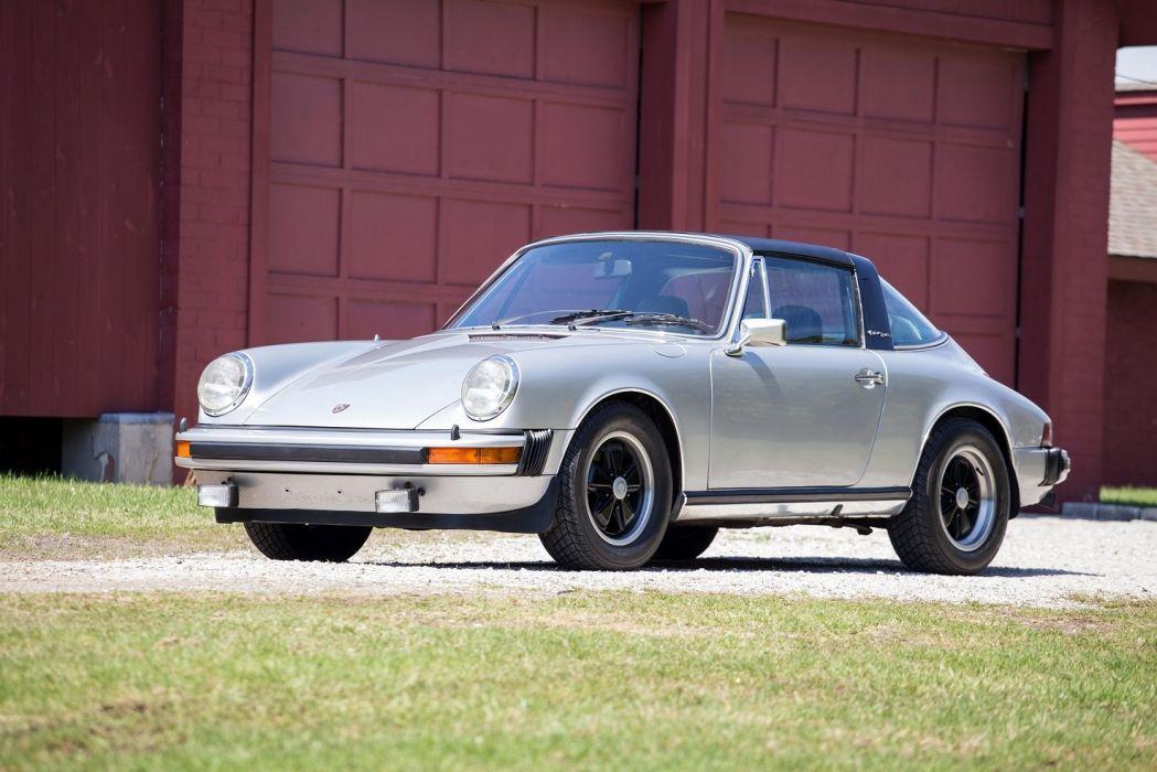 Porsche 911-S 2 7l Targa US-spec cars 1973 wallpaper