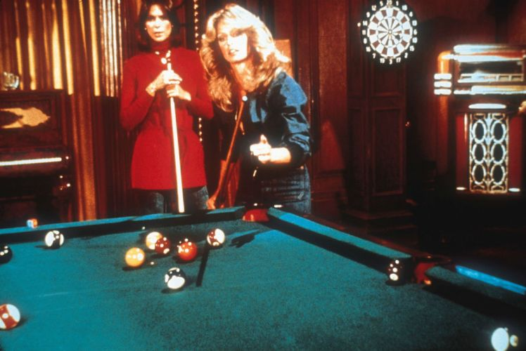 BILLIARDS pool sports 1pool sexy babe girl women woman female series television charlies angels wallpaper