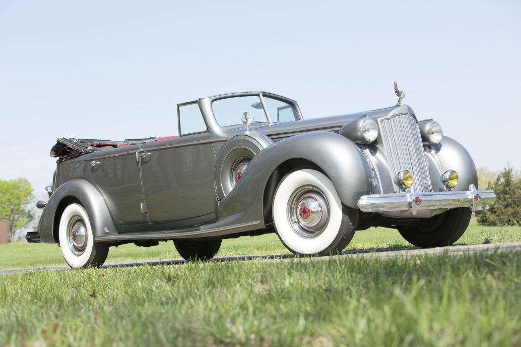 1939 Packard Twelve Convertible Sedan classic cars wallpaper
