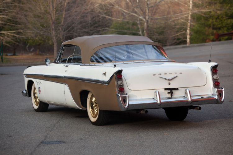 1956 DeSoto Fireflite Convertible classic cars wallpaper