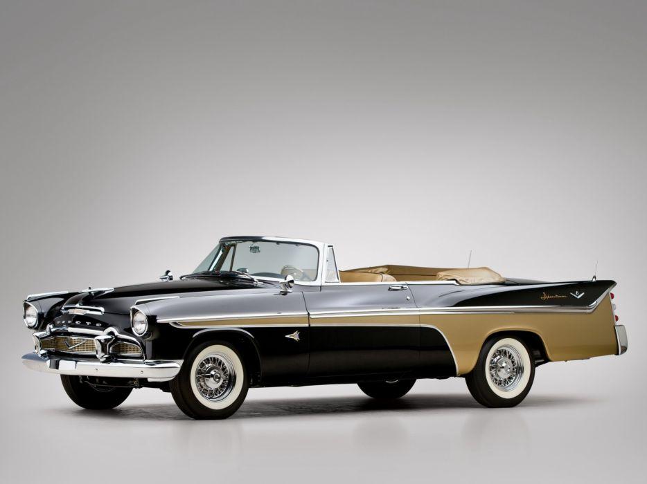 DeSoto Adventurer Convertible 1956 classic cars wallpaper