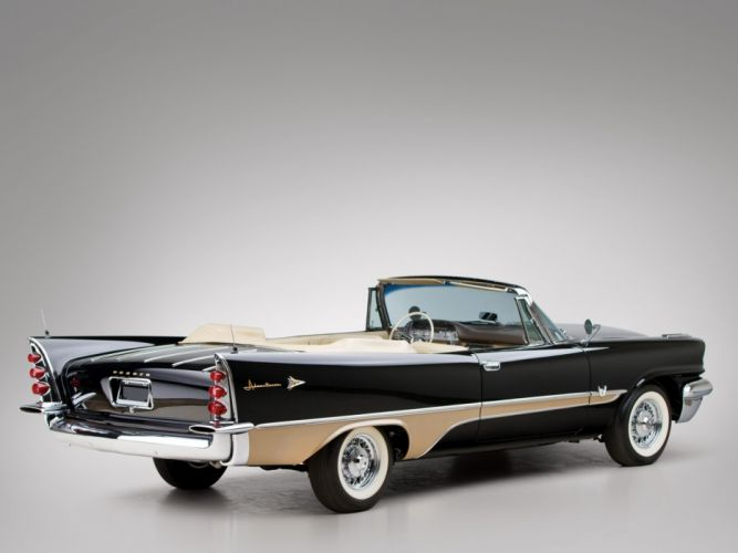 DeSoto Adventurer Convertible classic cars 1957 wallpaper