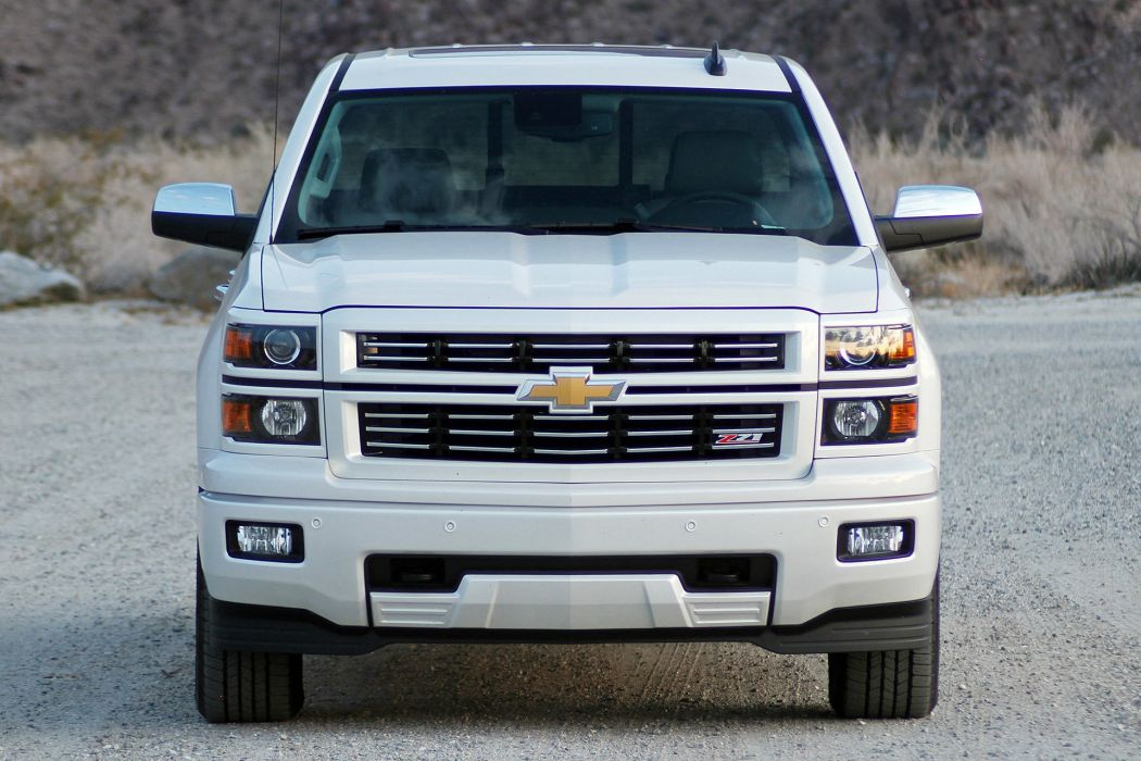 2015 Chevrolet Silverado 1500 Custom Sport pickup cars white wallpaper