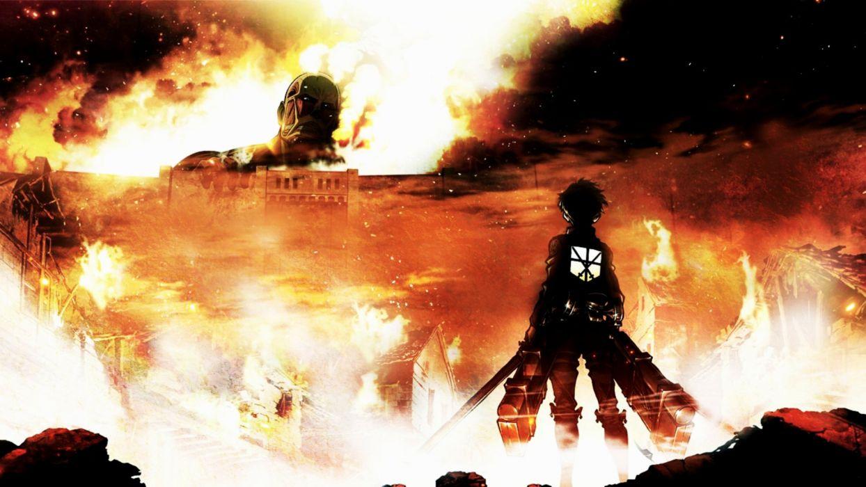 Attack On Titan Shinjeki no Kyojin wallpaper