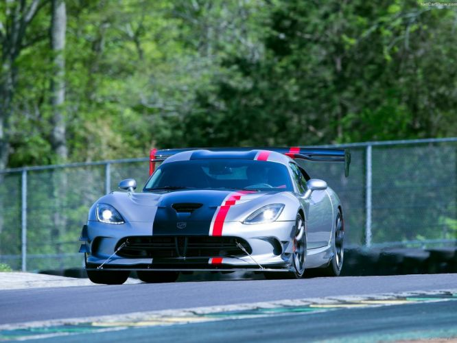 2016 acr cars Coupe Dodge sportcars Viper wallpaper