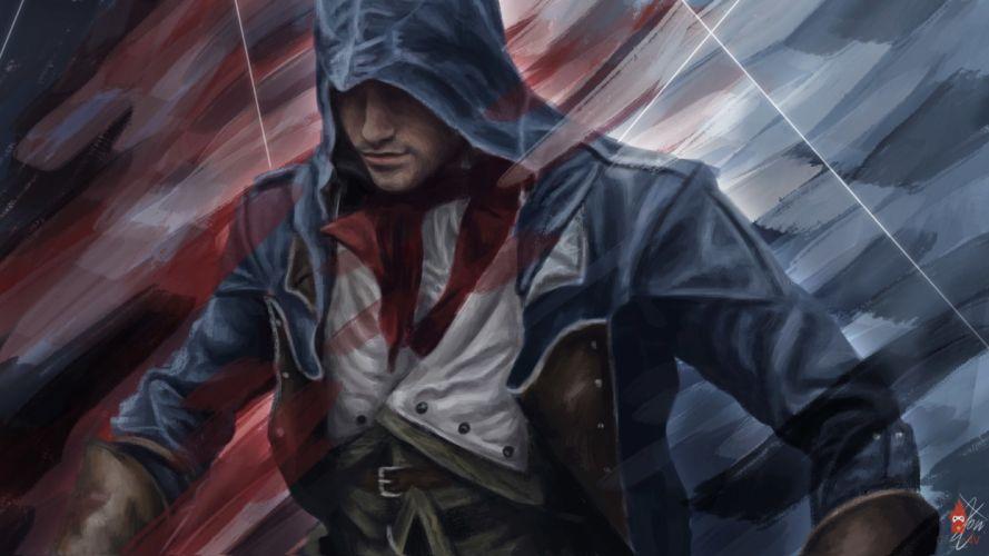 ASSASSINS CREED Unity fantasy action adventure fighting warrior wallpaper