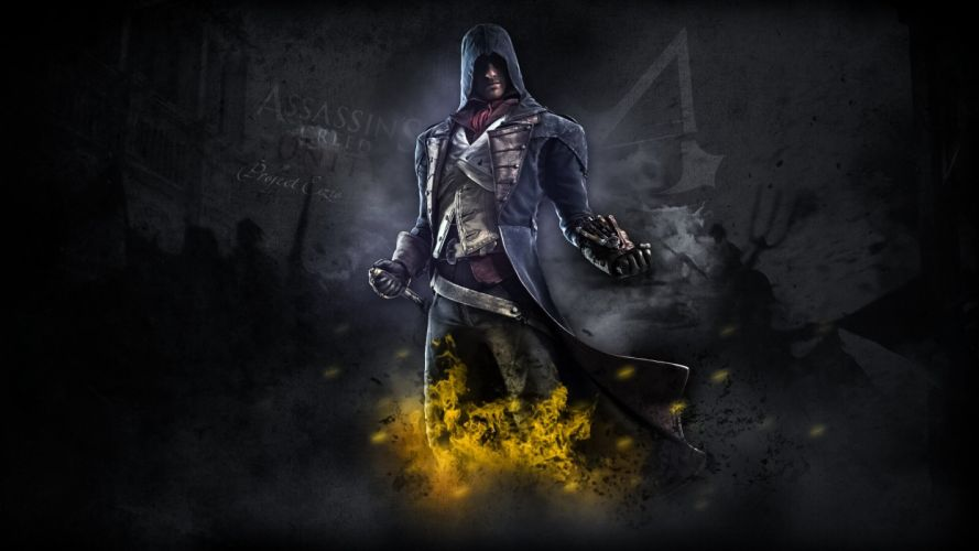 ASSASSINS CREED Unity fantasy action adventure fighting warrior wallpaper
