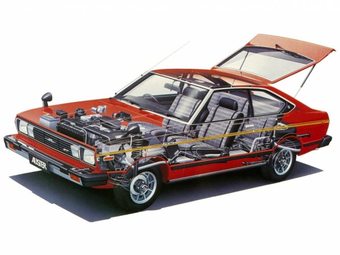 nissan auster gt coupe cars technical wallpaper