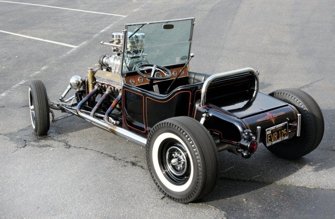 1915 Ford T-Bucket Hot Rod Old School Street Rodder Custom USA ...