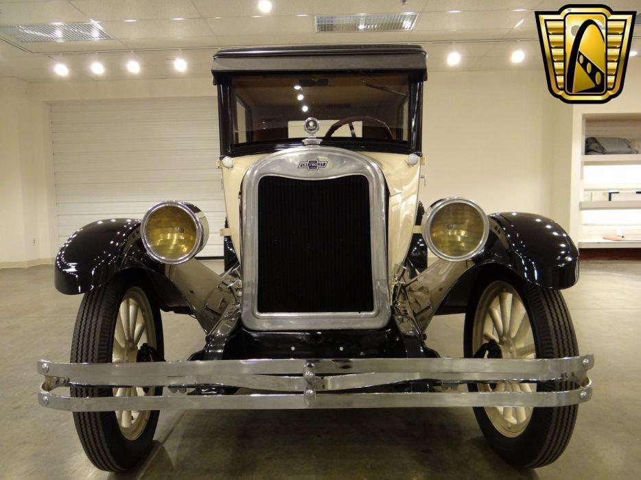 1925 Chevrolet Tudor Sedan Two Door Classic Old Vintage Original USA 2592x1944-02 wallpaper
