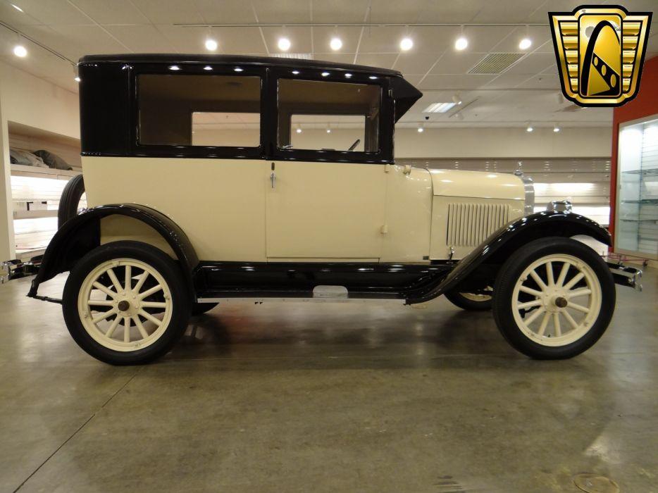 1925 Chevrolet Tudor Sedan Two Door Classic Old Vintage Original USA 2592x1944-04 wallpaper
