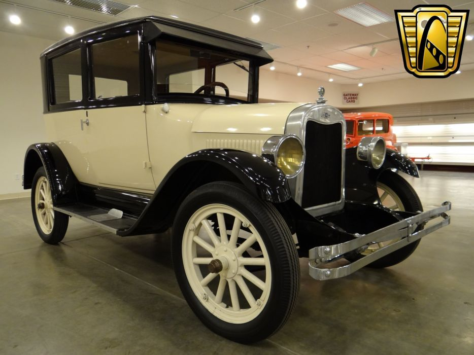 1925 Chevrolet Tudor Sedan Two Door Classic Old Vintage Original USA 2592x1944-03 wallpaper