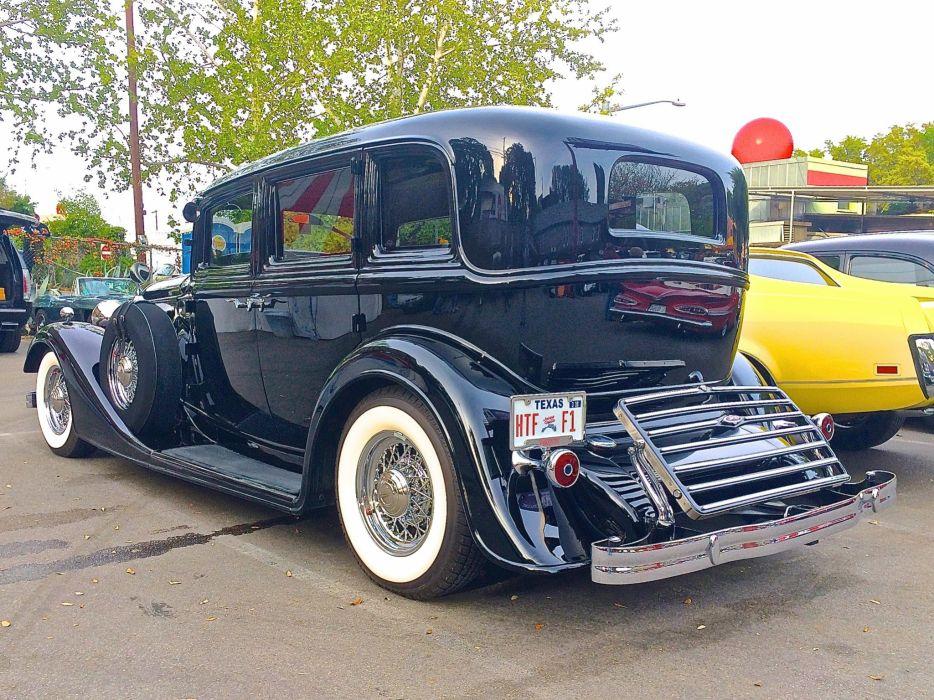 1934 Lincoln Model-K Custom Limousine Classic Old Vinyage Original USA 2048x1535-03 wallpaper