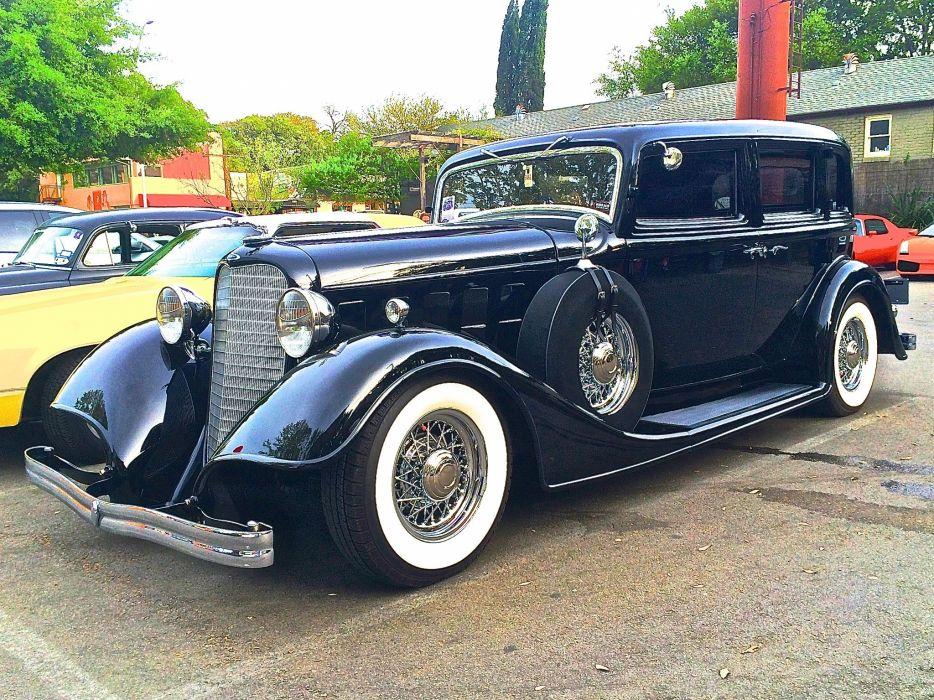 1934 Lincoln Model-K Custom Limousine Classic Old Vinyage Original USA 2048x1535-02 wallpaper