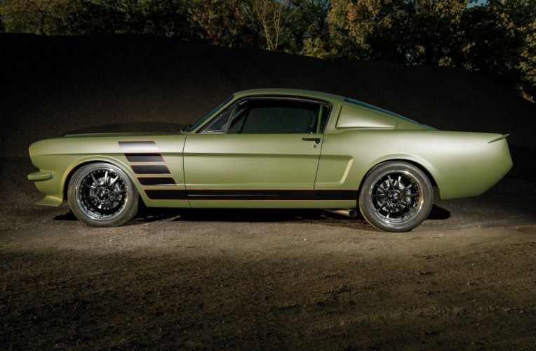 1965 Ford Mustang Fastback Muscle Pro Touring Super Street USA 2048x1340-01 wallpaper