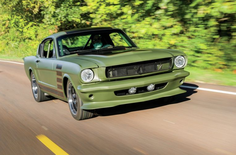 1965 Ford Mustang Fastback Muscle Pro Touring Super Street USA 2048x1340-02 wallpaper