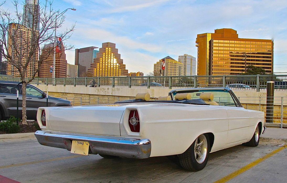 1965 Ford Galaxye Custom Convertible Streetrod Street Rod Rodder White USA 2500x1600-03 wallpaper