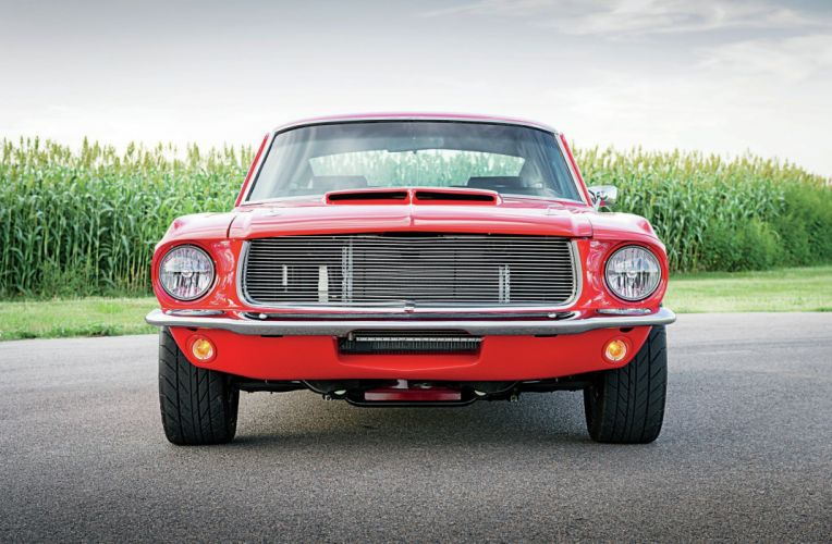 1967 Ford Mustang GT Fastbac Super Street Pro Touring Red USA 2048x1340-01 wallpaper