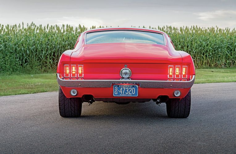 1967 Ford Mustang GT Fastbac Super Street Pro Touring Red USA 2048x1340-04 wallpaper
