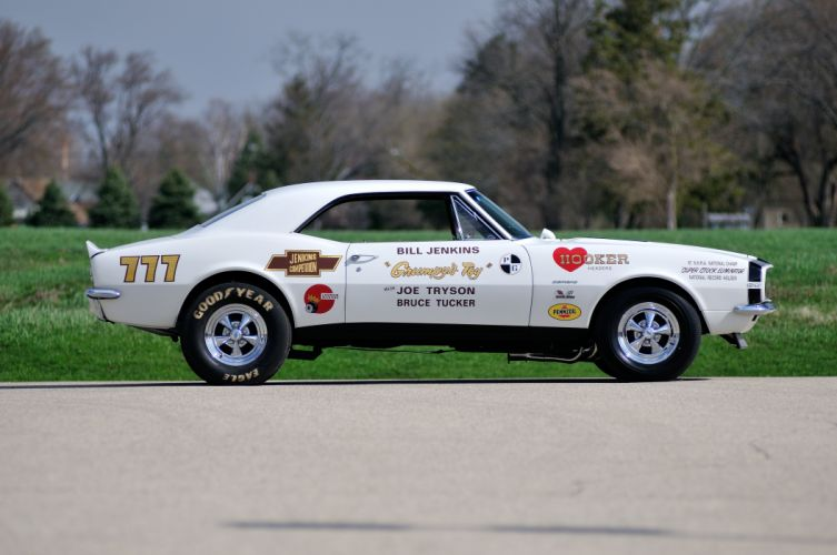 1967 Chevrolet Camaro Grumpys Toy Pro Stock Drag Dragster Race Racing USA 4288x2848-03 wallpaper