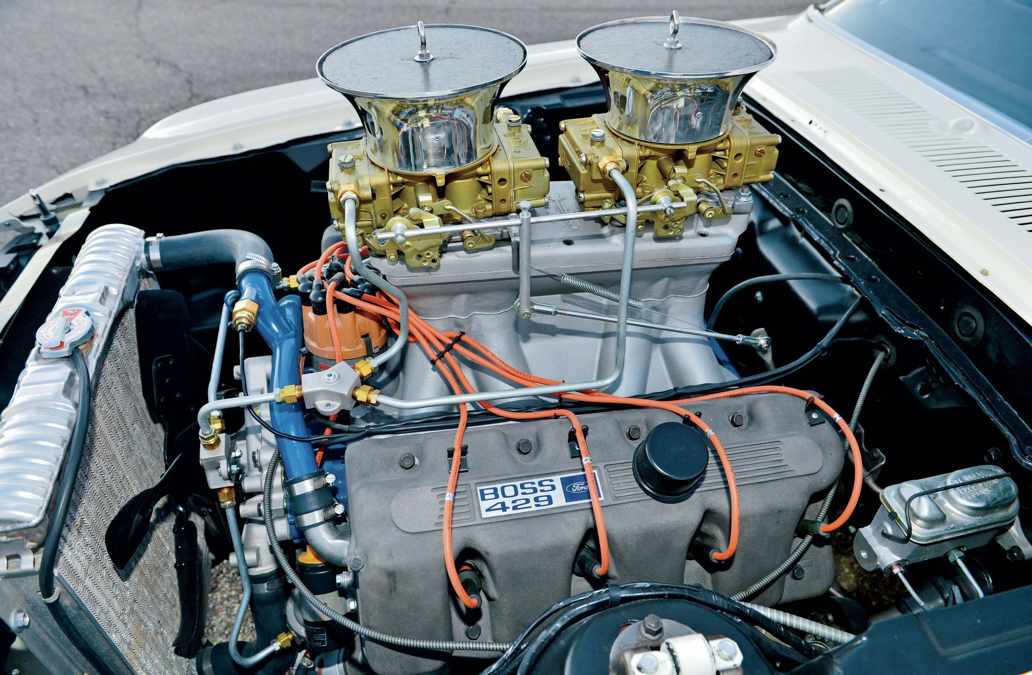 1969 Ford Mustang Boss 429 Pro Stock Drag Dragster Race