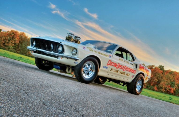 1969 Ford Mustang Boss 429 Pro Stock Drag Dragster Race Racing USA-2048x1340-02 wallpaper