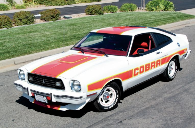 1978 Ford Mustang Cobra Muscle Classic Old Original White USA-2048x1340-02 wallpaper