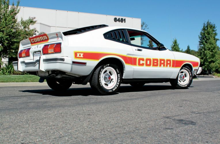 1978 Ford Mustang Cobra Muscle Classic Old Original White USA-2048x1340-03 wallpaper