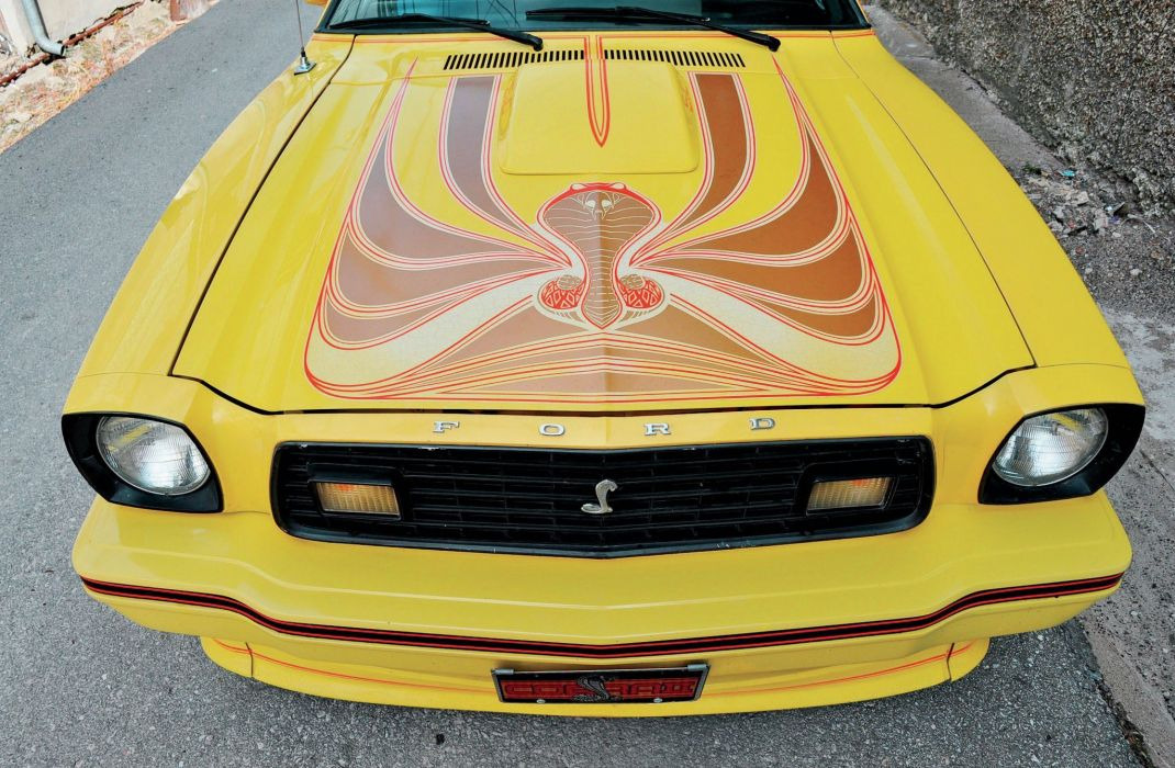 1978 Ford Mustang King Cobra Muscle Classic Old Original White USA-2048x1340-07 wallpaper