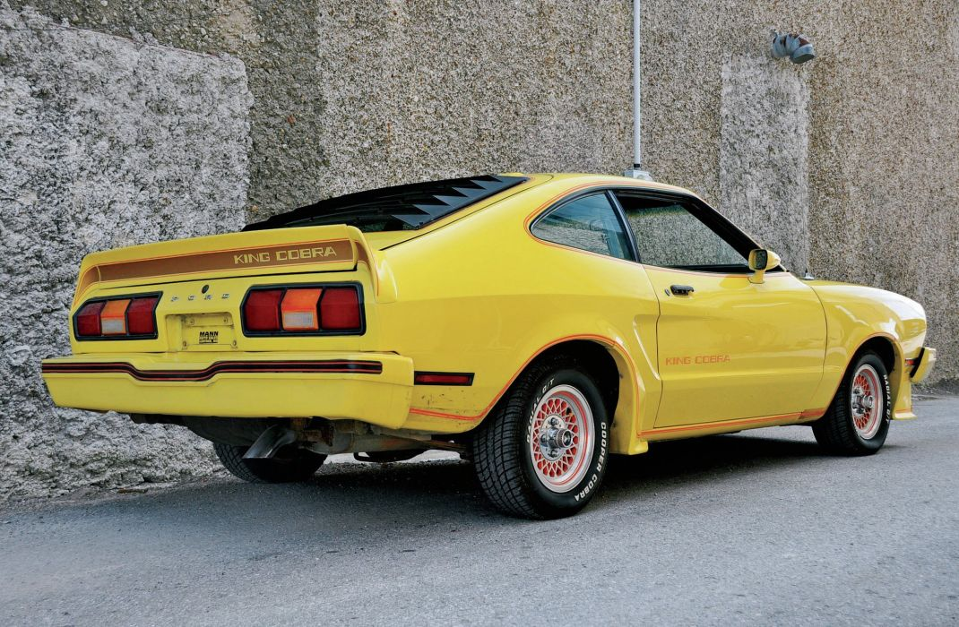 1978 Ford Mustang King Cobra Muscle Classic Old Original White USA-2048x1340-09 wallpaper