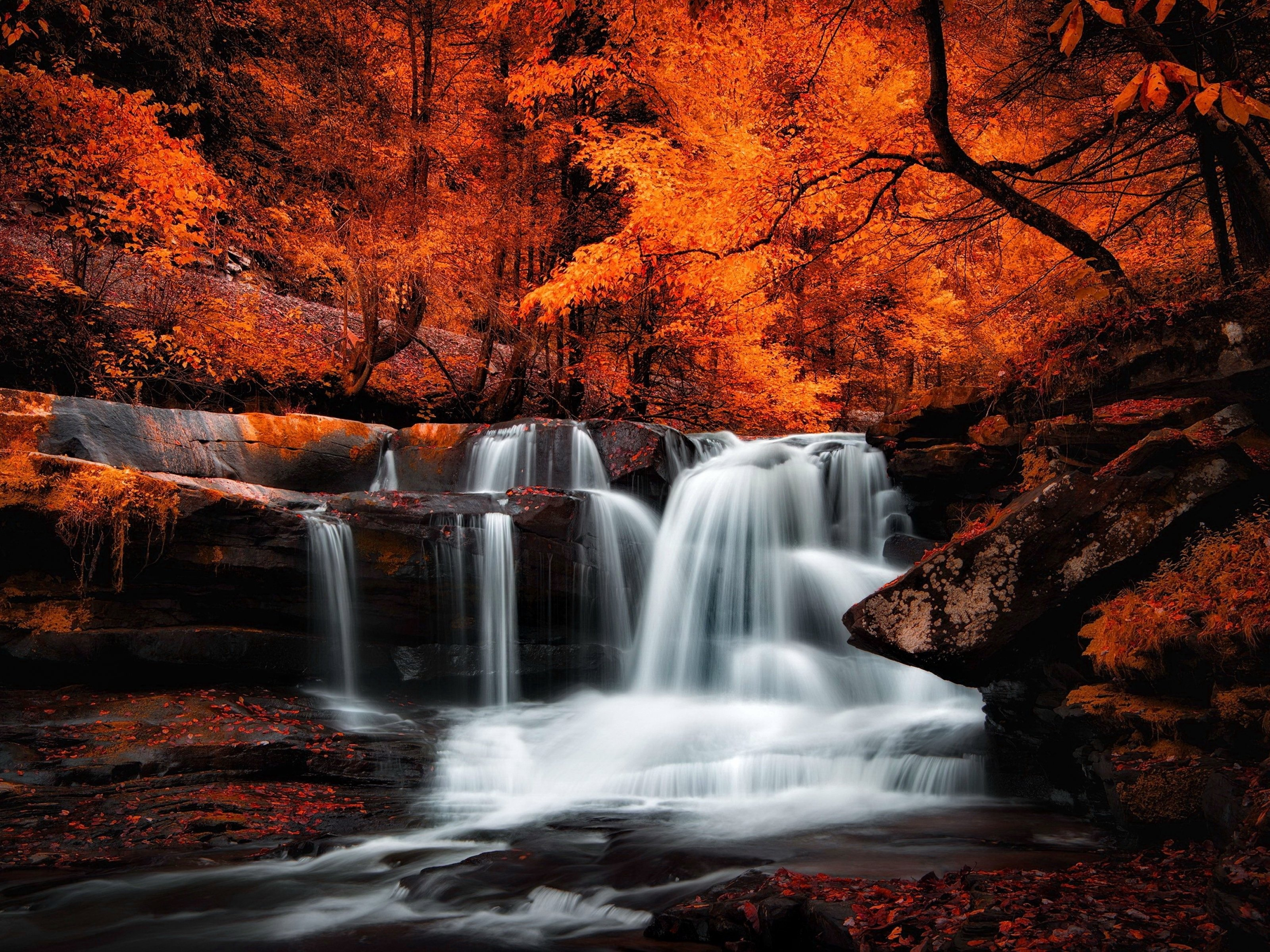 free waterfall wallpaper downloads