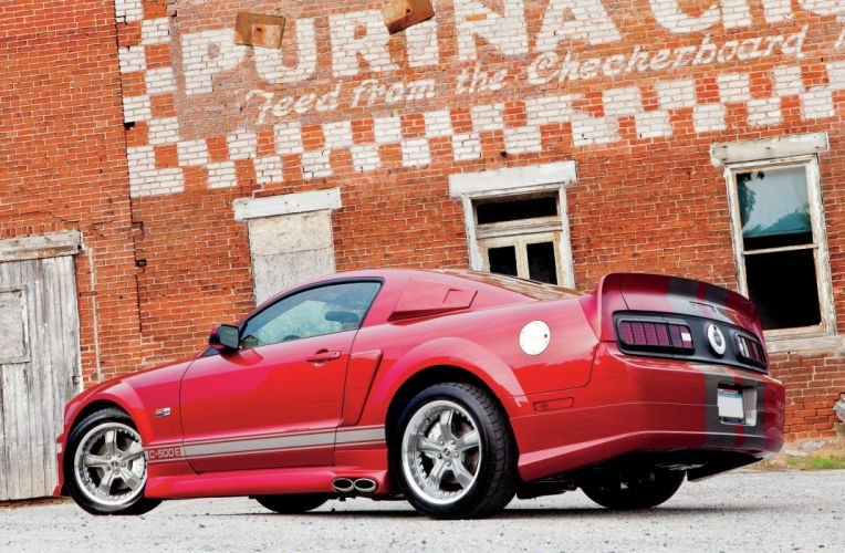 2006 Ford Mustang GT C-500E Muscle Supercar Super Street Red USA-2048x1340-01jp2 wallpaper