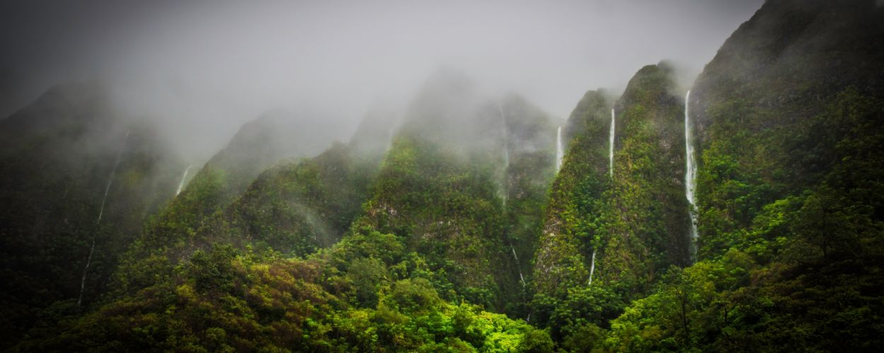 waterfall river landscape nature waterfalls wallpaper