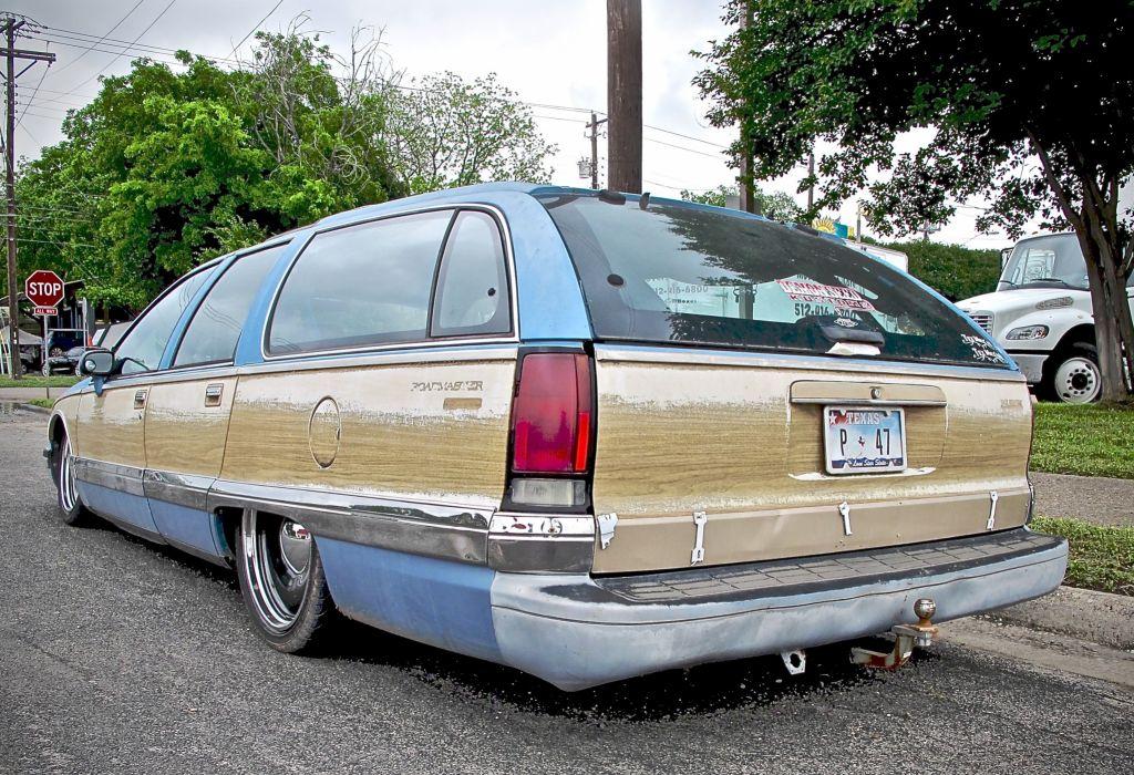 1990 Buick Estate Custom Kustom Lowered Low USA 3023x1736-03 wallpaper