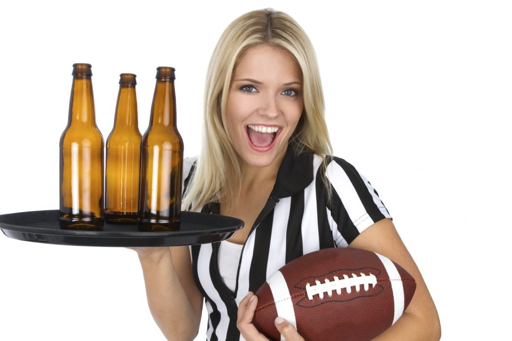 BEER alcohol drink drinks football babe wallpaper
