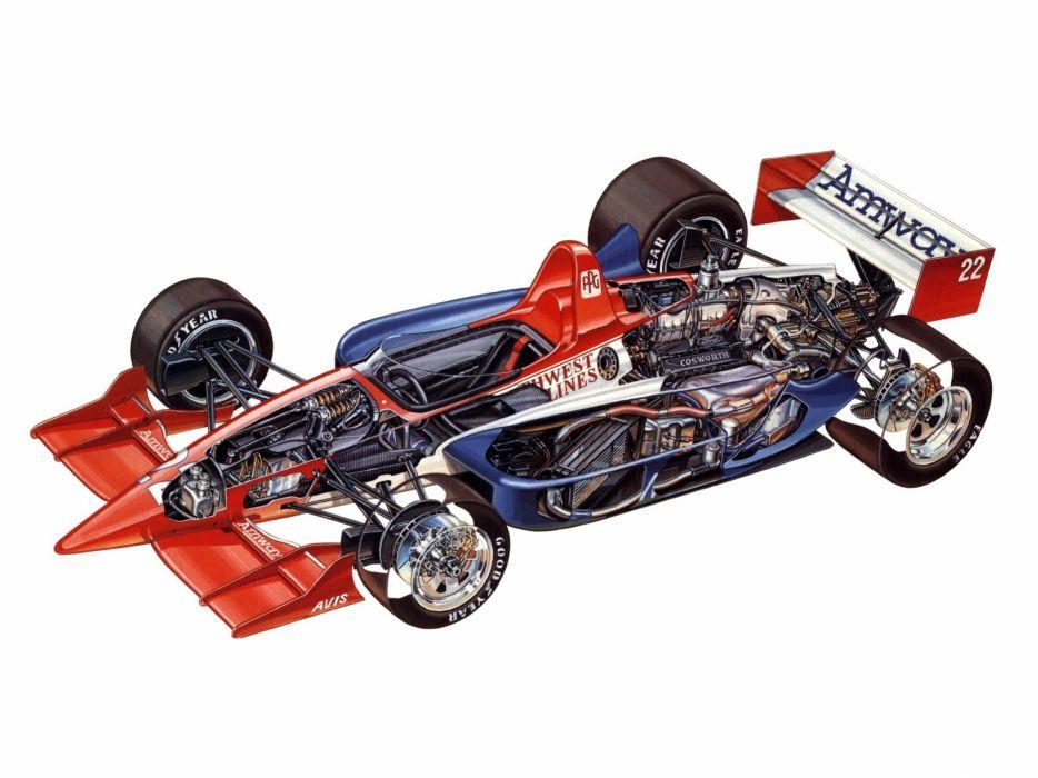 indy cars sportcars cutaway technical Lola T93 1993 wallpaper