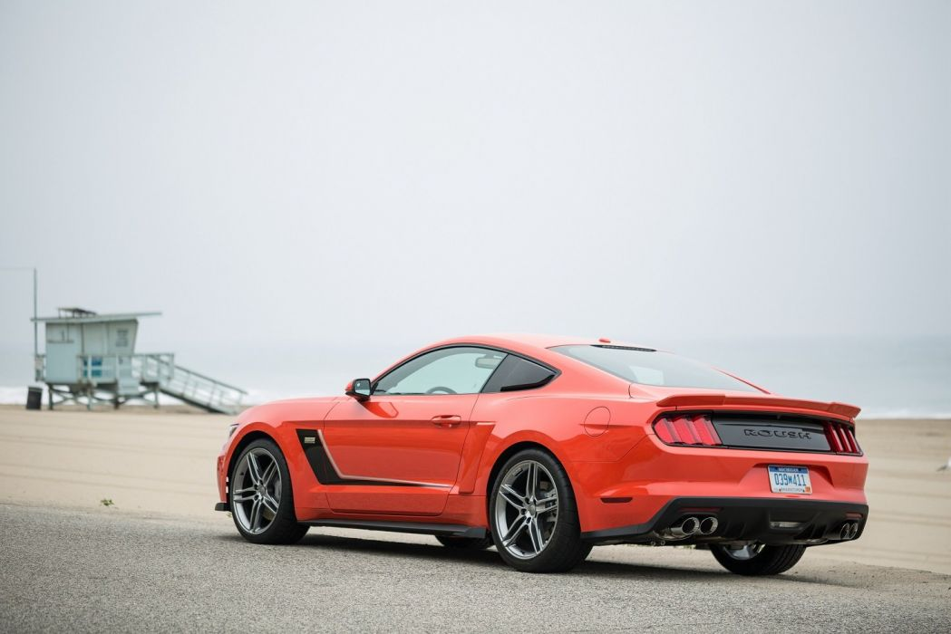 2015 Roush Stage-3 mustang modified  wallpaper